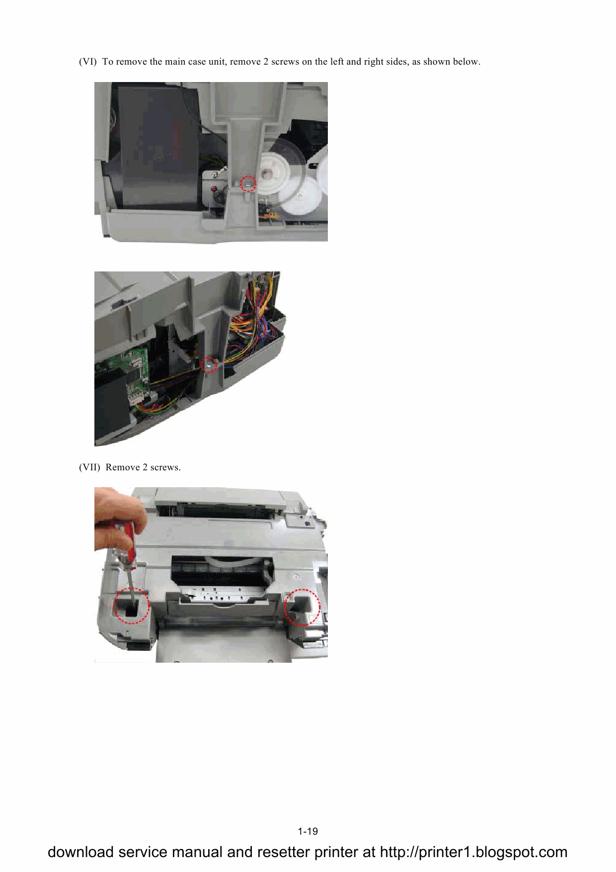 Canon PIXMA MP500 Service Manual-5